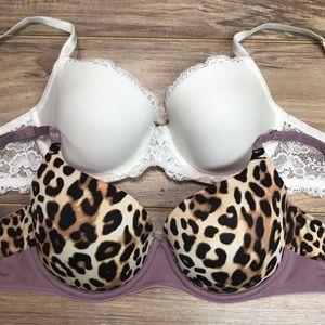 Victoria's Secret & vs pink 34C bra bundle